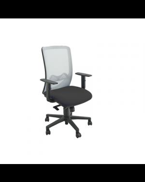 Seduta operativa nathan at nero - grigio NTHBR/EN 8050043746832 NTHBR/EN by Unisit