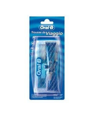 Trousse da viaggio oralb (spazzolino + 2 dentifrici 15ml B28 3014260103705 B28