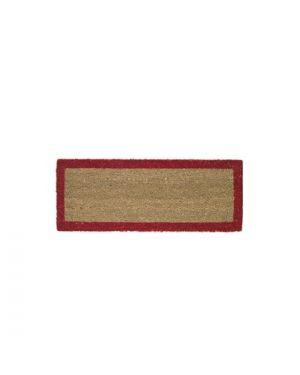 Tappeto scalino in cocco 27x70cm rosso velcoc ZV14SC2770-RO 8000771102561 ZV14SC2770-RO by Velcoc