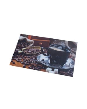 Tappeto in vinile 59x98cm stampa caffe&#39 K480430 86781 A K480430