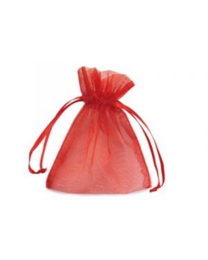 20 sacchetti organza milly 8,5x10cm rosso UL550DLL02VRO 8013170304740 UL550DLL02VRO
