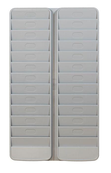 Portabadge da muro a 24 tasche paperflow K500000 3660141882421 K500000 by Paperflow