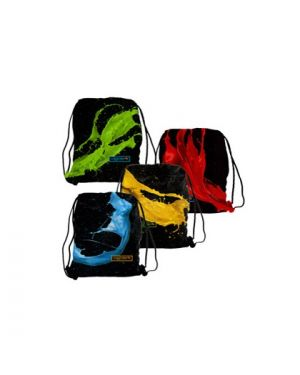 Sacca t-bag colorosa 35x50cm colori assortiti riplast 368500.S 8004428045294 368500.S