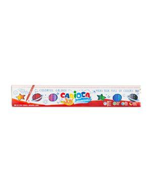 Scatola 96 pennarelli joy lavabili colori assortiti carioca 41022 8003511410223 41022