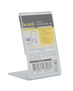 Display a l 8x5,2x4,1cm (a8) securit PFT-ACL-A8 8719075282182 PFT-ACL-A8