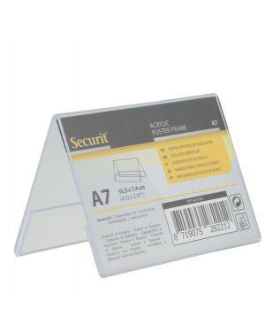 Display a v 7,8x10,6x6,7cm (a7) securit PFT-ACV-A7 8719075282212 PFT-ACV-A7