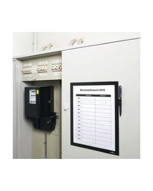 Cornice magnetica duraframe note a4 21x29,7cm nero durable 4989-01 4005546989679 4989-01