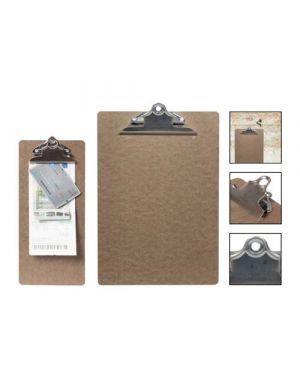 Porta menu' clip in legno 34,5x23cm securit MC-CBA4-BR 8719075280171 MC-CBA4-BR