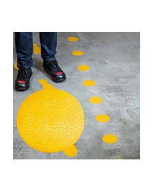 """Conf.10 adesivi da terra """"punto"""" Ø10cm 1704 durable 1704-04 4005546983615 1704-04"""