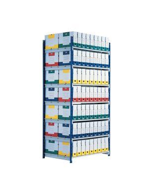 Set 5 ripiani in truciolato 68x100cm per scaffale rang'eco K605175 3660141200942 K605175 by Paperflow