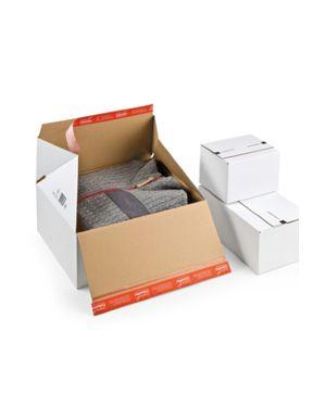 Scatola per spedizione e-commerce 38,9x32,4x32cm bianco CP155.456 87092A CP155.456