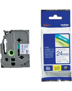 Nastro 24 mm  etichet blu - biano Brother TZE253 4977766685498 TZe253