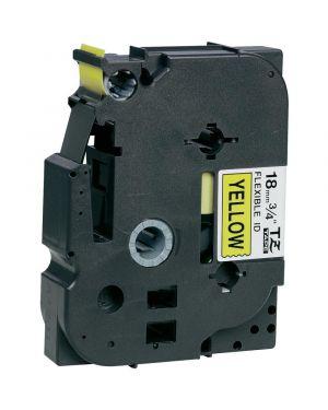 Nastro tz 18mm nero su giallo fless Brother TZEFX641 4977766692083 TZeFX641