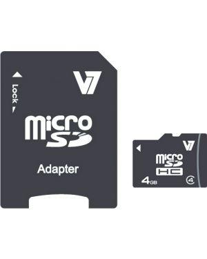Microsd card 4gb sdhc cl4 V7 - MEMORIES II VAMSDH4GCL4R-2E 4038489029089 VAMSDH4GCL4R-2E_J152263 by Axpro