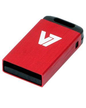 Nano usb stick 4gb red V7 - MEMORIES I VU24GCR-RED-2E 4038489028976 VU24GCR-RED-2E_J152268 by Axpro