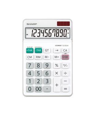 Calcolatrice da tavolo el331wb EL331WB 4974019915395 EL331WB-1 by Sharp