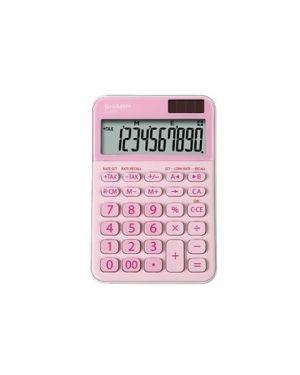 Calcolatrice da tavolo, el m335 10 cifre, colore rosa ELM335 BPK 4974019960784 ELM335 BPK