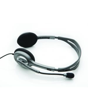 Stereo headset h110 LOGITECH - INPUT DEVICES 981-000271 5099206022423 981-000271_2227170 by Logitech