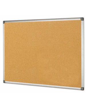 Lavagna sughero 90x120cm cornice alluminio starline stl6412 8025133021762 stl6412