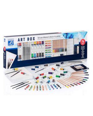 Confezione regalo art box multitecniche lefranc LEFRANC&BOURGEOIS 300233 3013643002338 300233