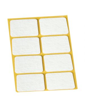 Feltrini adesivi igienissimo mm.25x35 pz.8 bianco IGIENISSIMO 100321 8022915000243 100321