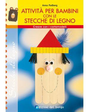 Libro attivita' stecche in legno CWR 7374 9788884571779 7374