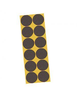 Feltrini adesivi igienissimo d.22 pz.12 marrone IGIENISSIMO 100552 8022915000274 100552