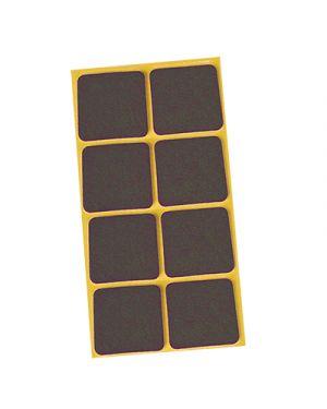 Feltrini adesivi igienissimo mm.25x35 pz.8 marrone IGIENISSIMO 114280 8022915000335 114280