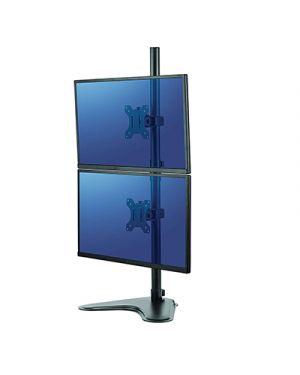 Braccio porta monitor professional series doppio verticale FELLOWES 8044001 0043859728060 8044001