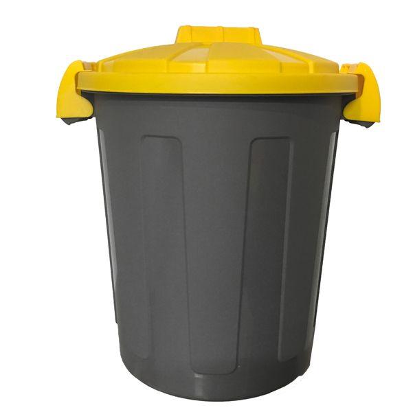 coperchio di ricambio per pattumiera 100 lt giallo secchio bidone spazzatura