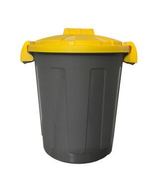 Contenitore portarifiuti dusty 25lt c - coperchio giallo 105/25-GIA 8004331105269 105/25-GIA