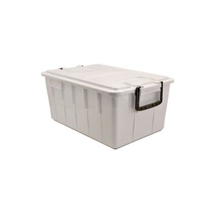 Contenitore con coperchio 40lt bianco foodbox 143/40-BIM 8004331143407 143/40-BIM by No