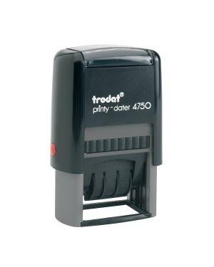 Timbro printy 4750 - 1 4.0 41x24mm datario+ricevuto autoinch. trodat 141383  141383