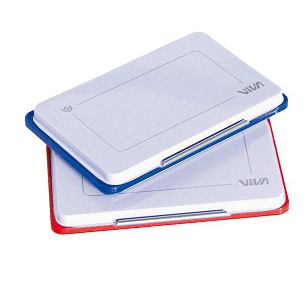 Cuscinetto per timbro in gomma blu viva 348B-blue 8014035003419 348B-blue by Viva