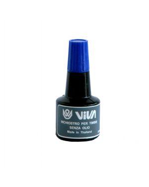 Inchiostro per cuscinetti a base alcool 30gr blu viva 358B-Blue 8014035001859 358B-Blue