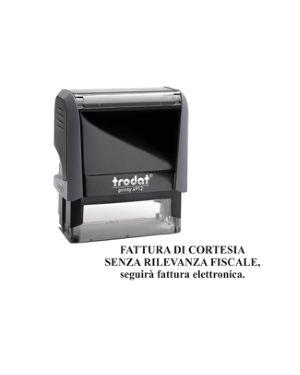 Timbro printy 4912 office fatturazione elettronica trodat 149221  149221