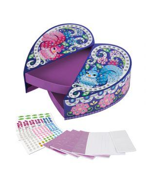 Sticky mosaics scatola gioiello cuore ORB FACTORY 67601 0622222067601 67601