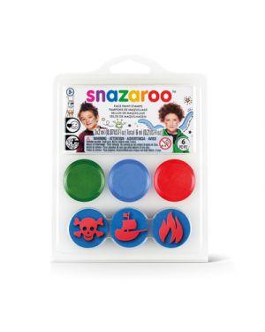 Mini kit timbri snazaroo fondo sottomarino SNAZAROO 1185050 766416200730 1185050