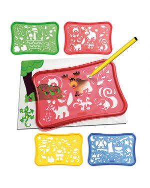 Stencils design foresta QUERCETTI 2646 8007905026465 2646