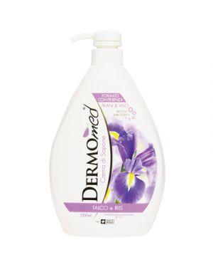 Dermomed sapone liquido con erogatore talco e iris ml.1000 DERMOMED 117677 8032680397073 117677