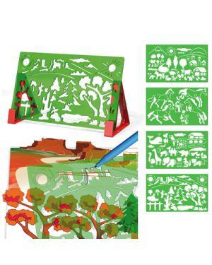 Stencil sagome paesaggi 2616 QUERCETTI 2616 8007905026168 2616
