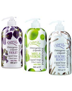 Sapone liquido con dosatore 500 ml aromi vari VMD 4012111 8002140090813 4012111