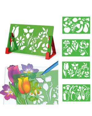 Stencil sagome fiori frutta 2615 QUERCETTI 2615 8007905026151 2615-1