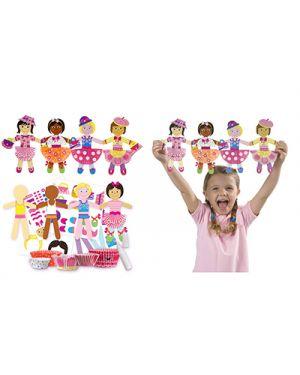 Creare 4 bambole di carta ALEX TOY 1193 0731346119308 1193