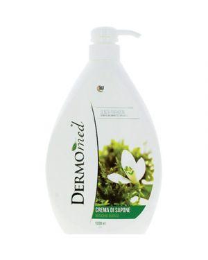 Dermomed sapone liquido con erogatore muschio bianco ml.1000 DERMOMED 121094 8032680398131 121094