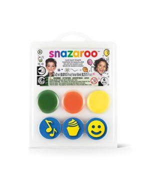 Mini kit timbri snazaroo compleanno SNAZAROO 1185051 766416200747 1185051