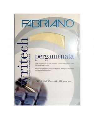 Carta pergamenata fabriano a4 gr.110 avorio fg.50 FABRIANO 54212975 8001348155546 54212975 by Fabriano