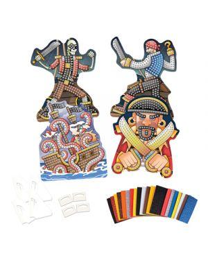 Sticky mosaics pirati ORB FACTORY 72391 0622222072391 72391