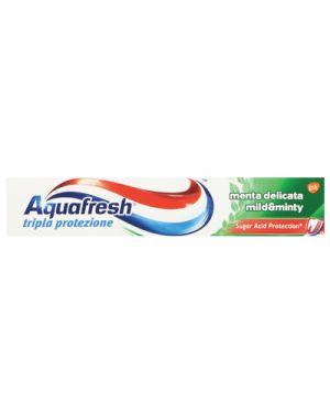Aquafresh dentifrifricio tripla protezione ml.75 menta delicata AQUAFRESH 103544 8016825973636 103544