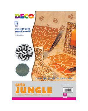 Carta animali 35x50 cm fg. 10 col. ass CWR 4840 8004957048407 4840